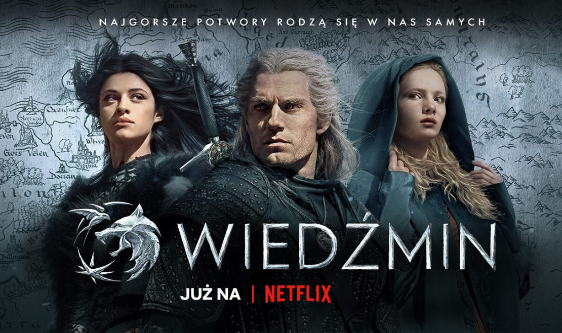 "Serial ""Wiedźmin"" (The Witcher) już na Netflix"