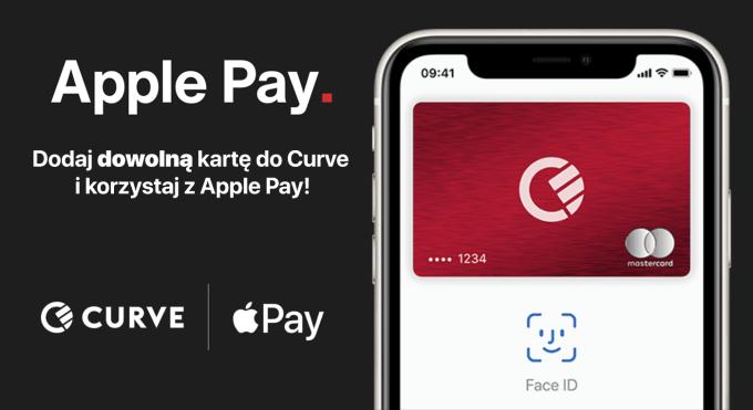 Płatności Apple Pay przez aplikację Curve