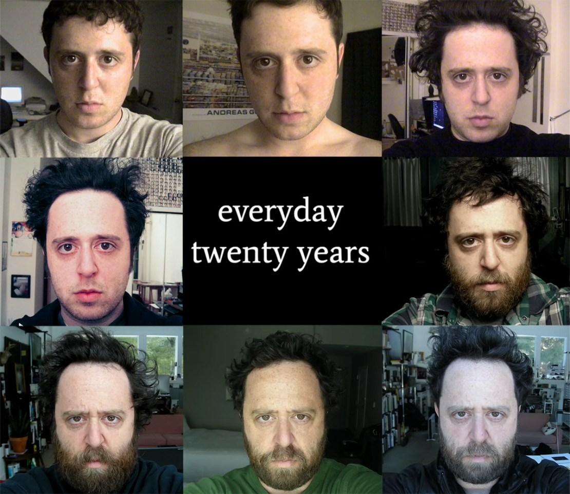 Everyday 20 years – Noah Kalina project