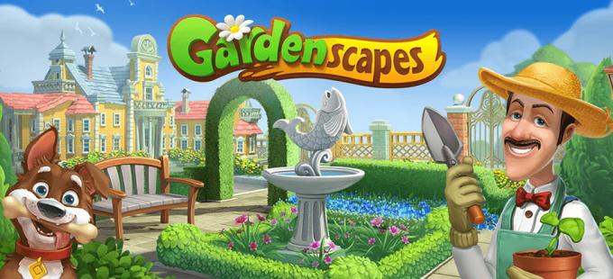 """Gra mobilna """"Gardenscapes"""""""