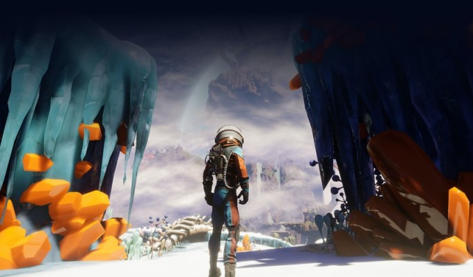 Screen z gry: Journey to the Savage Planet
