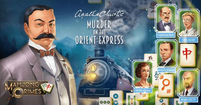 """""""Mahjong Crimes"""" to połączenie klasycznego mahjonga i kryminału """"morderstwo w Orient Expressie"""" Agathy Christie"""