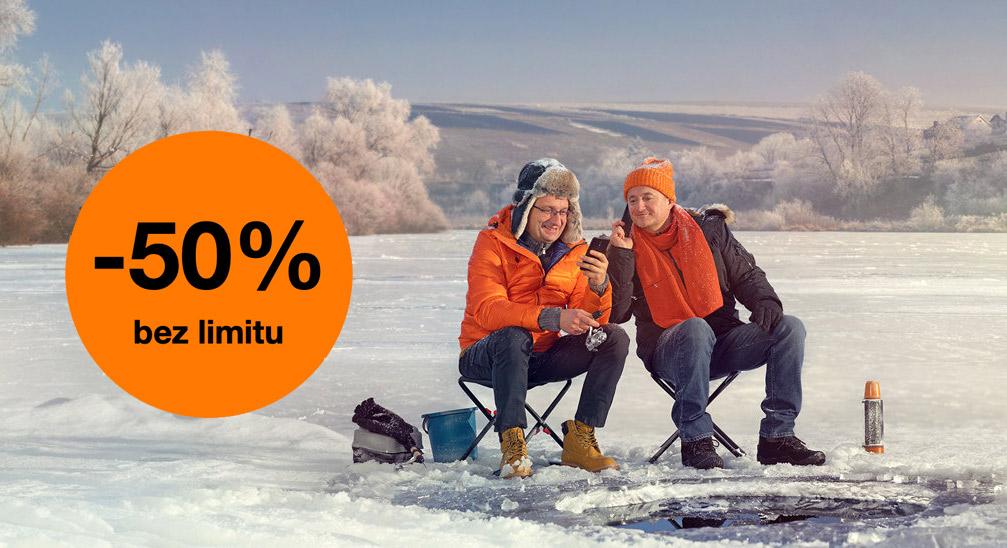 Orange na kartę bez limitu - promo zima 2020