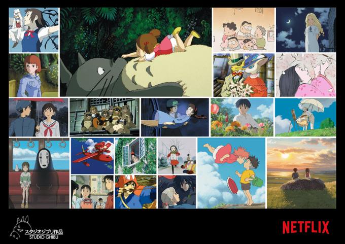 Filmy studia Ghibli w serwisie Netflix (2020)