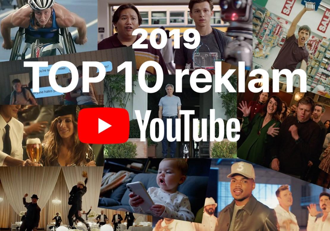 TOP 10 reklam 2019 roku na YouTubie (świat)