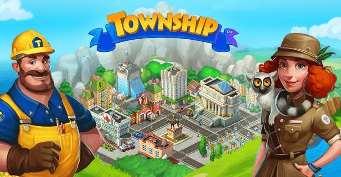 "Gra mobilna ""Township"""