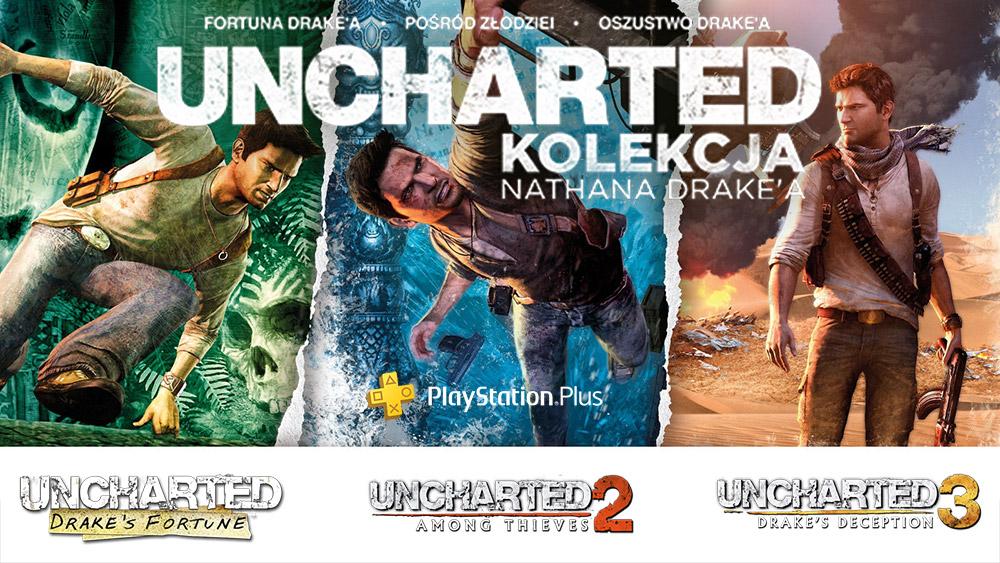 Uncharted: Kolekcja Nathana Drake'a Playstation Plus (styczeń 2020)