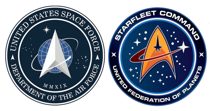 US Space Force vs. Starfleet Command (Star Trek)