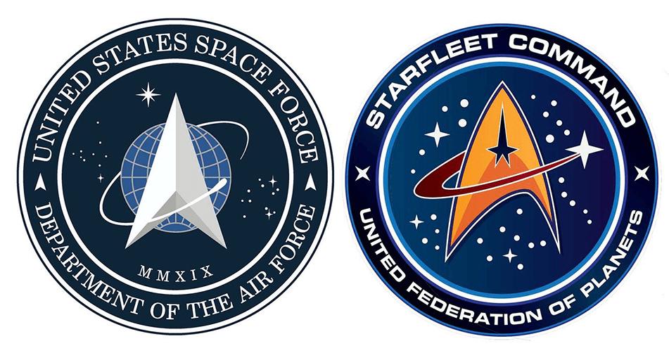 US Space Force vs. Starfleet Command (Star Trek)