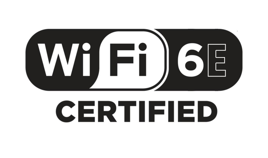 Wi-Fi 6E Certified (logo)