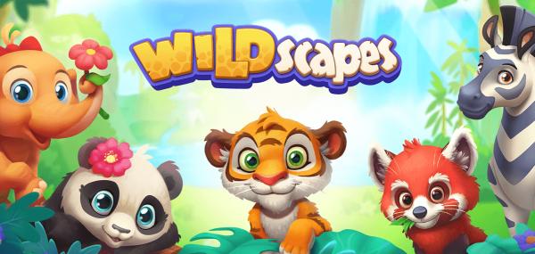 """Rozwijaj własne mobilne zoo w grze """"Wildscapes"""""""