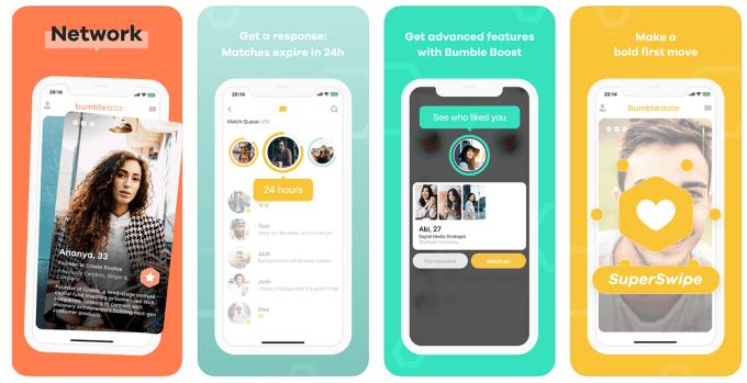 Aplikacja mobilna Bumble