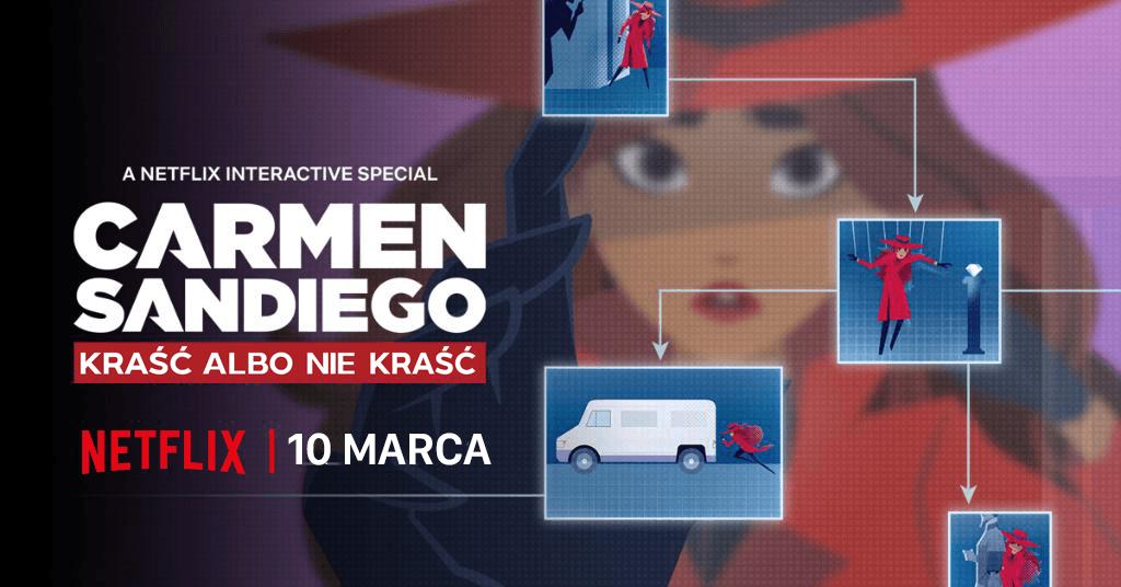 """Interaktywny film animowany: """"Carmen Sandiego: Kraść albo nie kraść"""""""