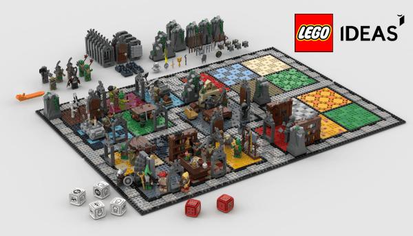 Grałbym w taką planszówkę HeroQuest od LEGO Ideas