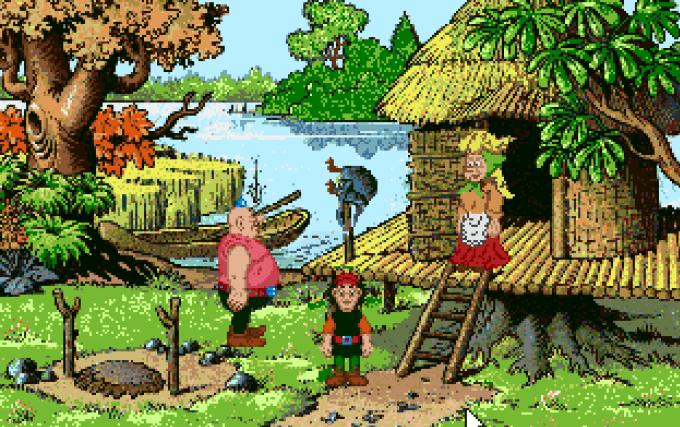 Kajko i Kokosz w Krainie Borostworów - remake kultowej gry na podstawie komiksu Janusza Christy