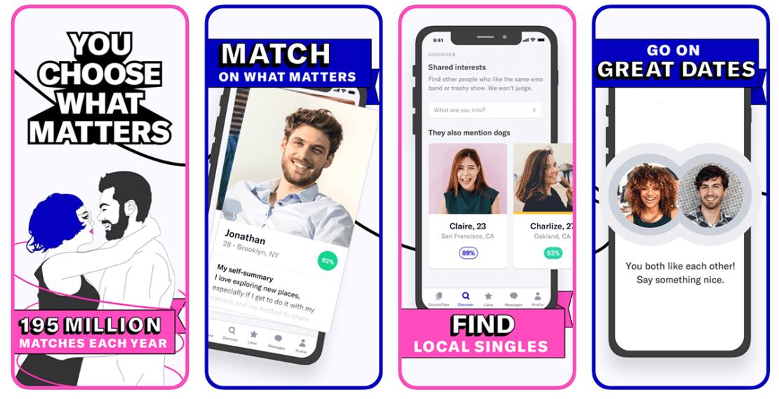 OkCupid screen