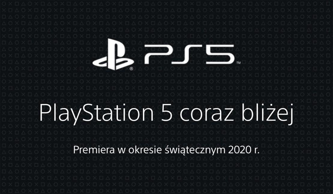 Nagłówek polskiej strony PlayStation 5