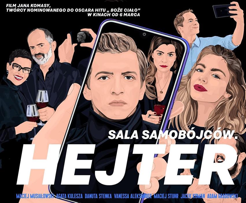 """""""Sala Samobójców. Hejter"""" – film Jana Komasy 2020 r."""