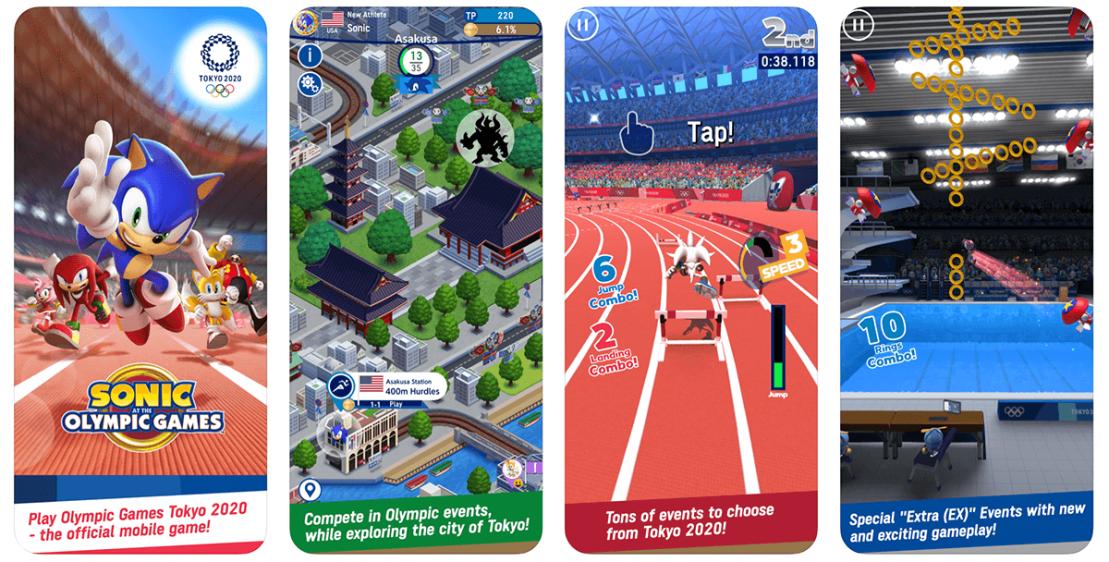 Sonic at the Olympic Games – Tokyo 2020 (SEGA)