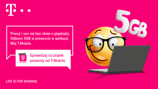 Happy Fridays w T-Mobile: darmowe 5 GB internetu mobilnego!