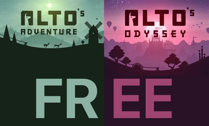 Gry Alto's Adventure oraz Alto's Odyssey za darmo do pobrania przez tydzień!