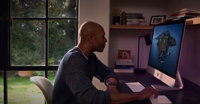 Apple iMac praca zdalna z domu