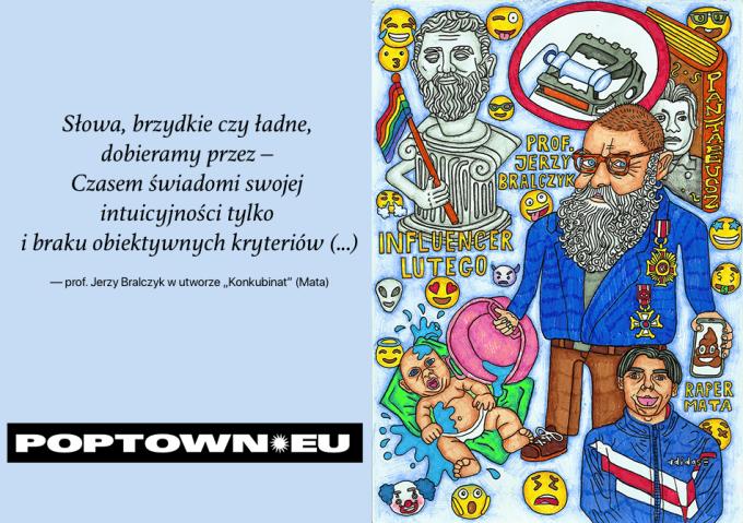 Bralczy, Mata i język polski (Poptown.eu)