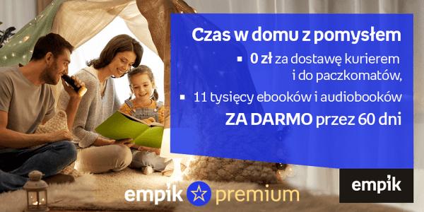 Empik Premium na 60 dni za darmo dla wszystkich