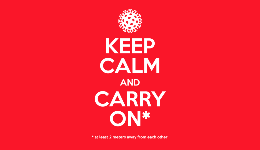 Keep Calm COVIC-19
