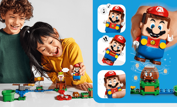 Mario w interaktywnych zestawach LEGO!