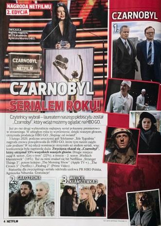 """Nagroda Netfilmu (2. edycja) – """"Czarnobyl"""""""