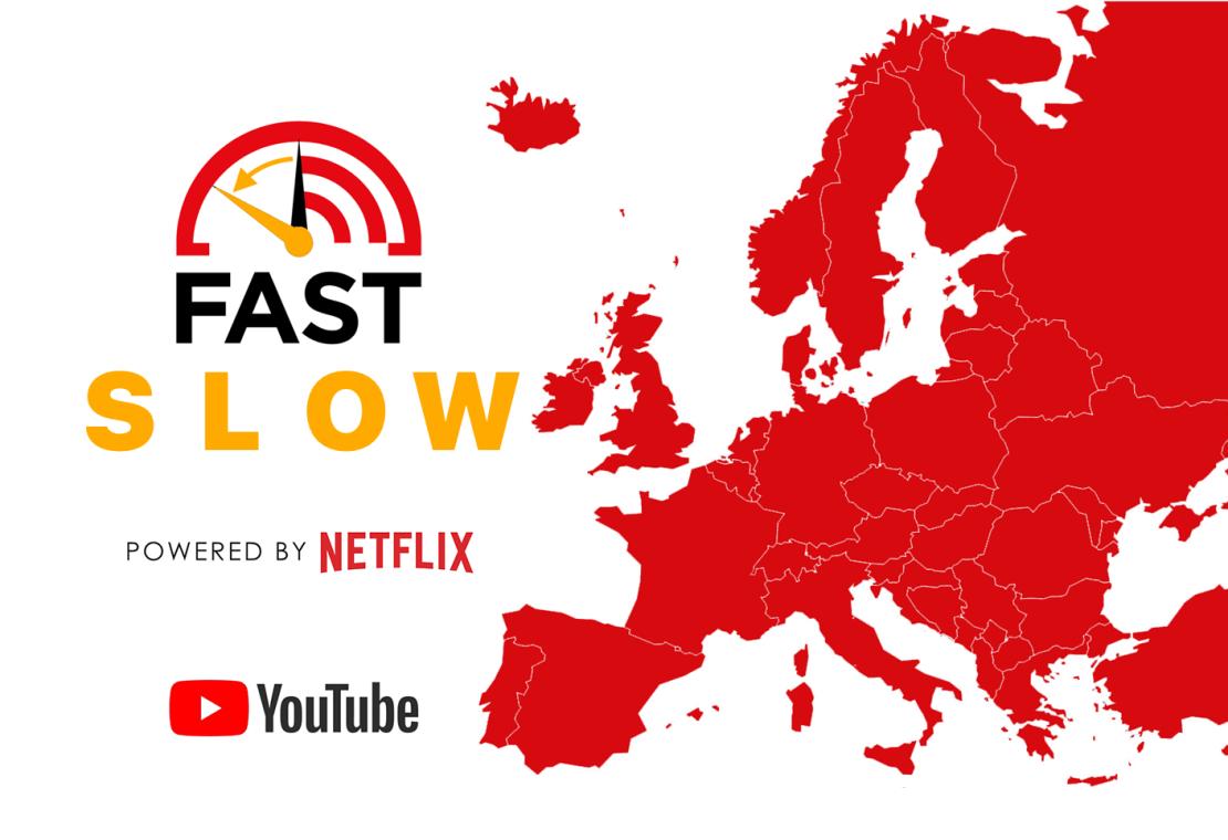 Netflix i YouTube obniżają jakość filmów w EU aby zwiększyć przepustowość internetu