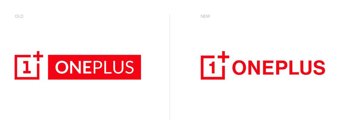 OnePlus: Stare logo (po lewej), nowe logo (po prawej)
