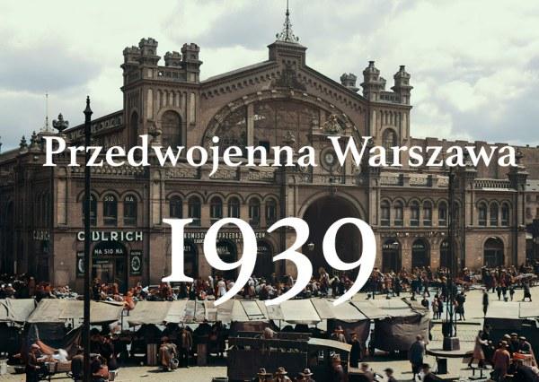 Przedwojenna Warszawa pokolorowana przez AI i Mariusza Zająca
