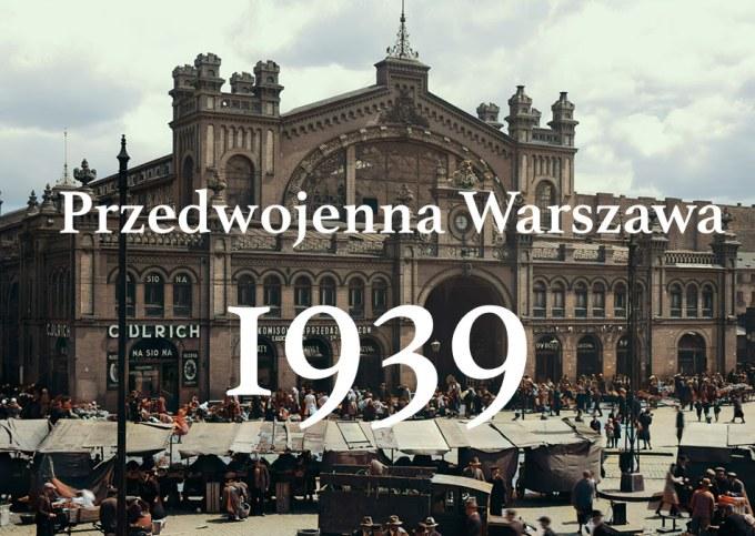 Przedwojenna Warszawa 1939 – remastering Mariusz Zając