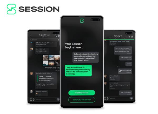 """Komunikator """"Session"""" do bezpiecznych rozmów bez numeru telefonu"""