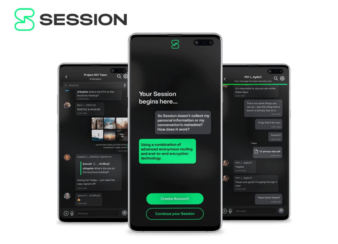 Session Private Messenger