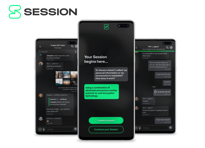 Session Private Messenger