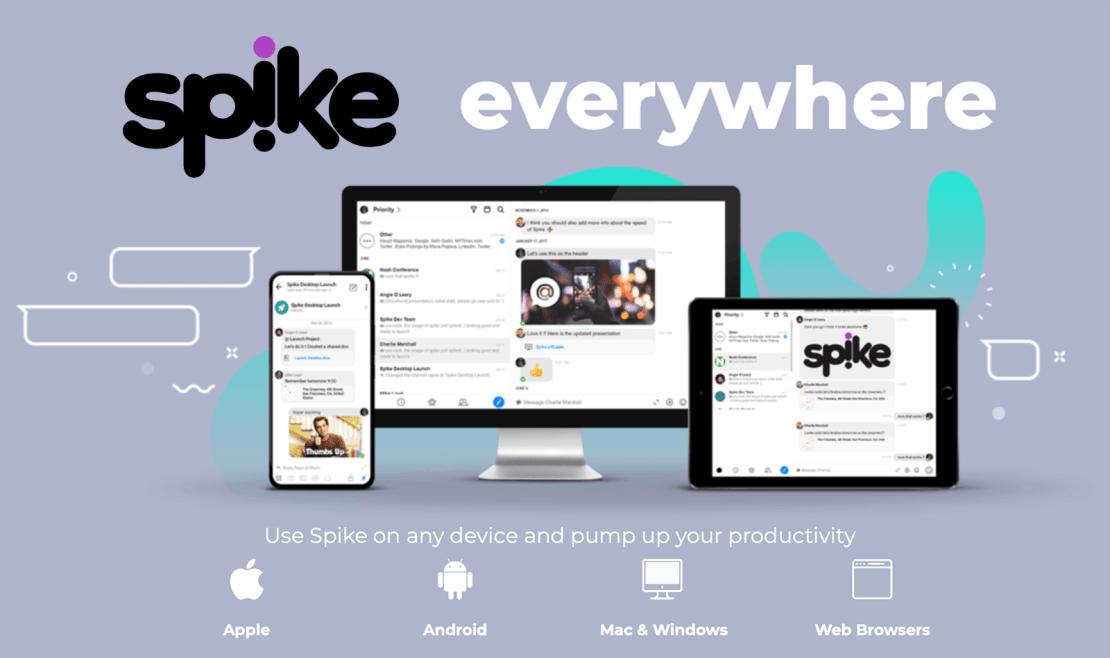 Spike everywhere - uniwersalna aplikacja e-mail i komunikator w jednym
