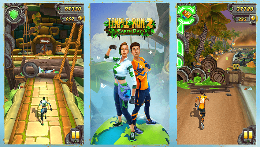 Temple Run 2 – Earth Day