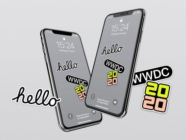 Tapety z motywem WWDC20 na iPhone'a i iPada