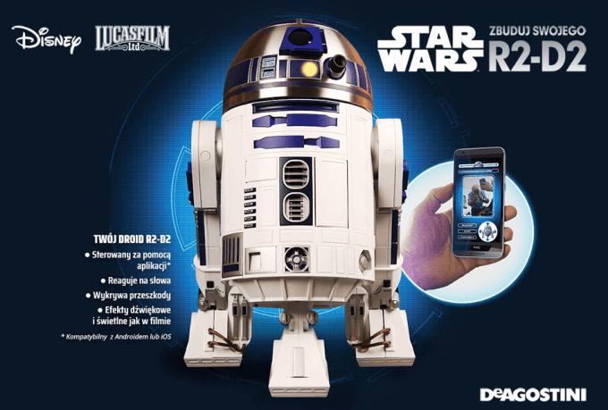 Zbuduj swojego Star Wars R2-D2 (Kolekcja De Agostini)