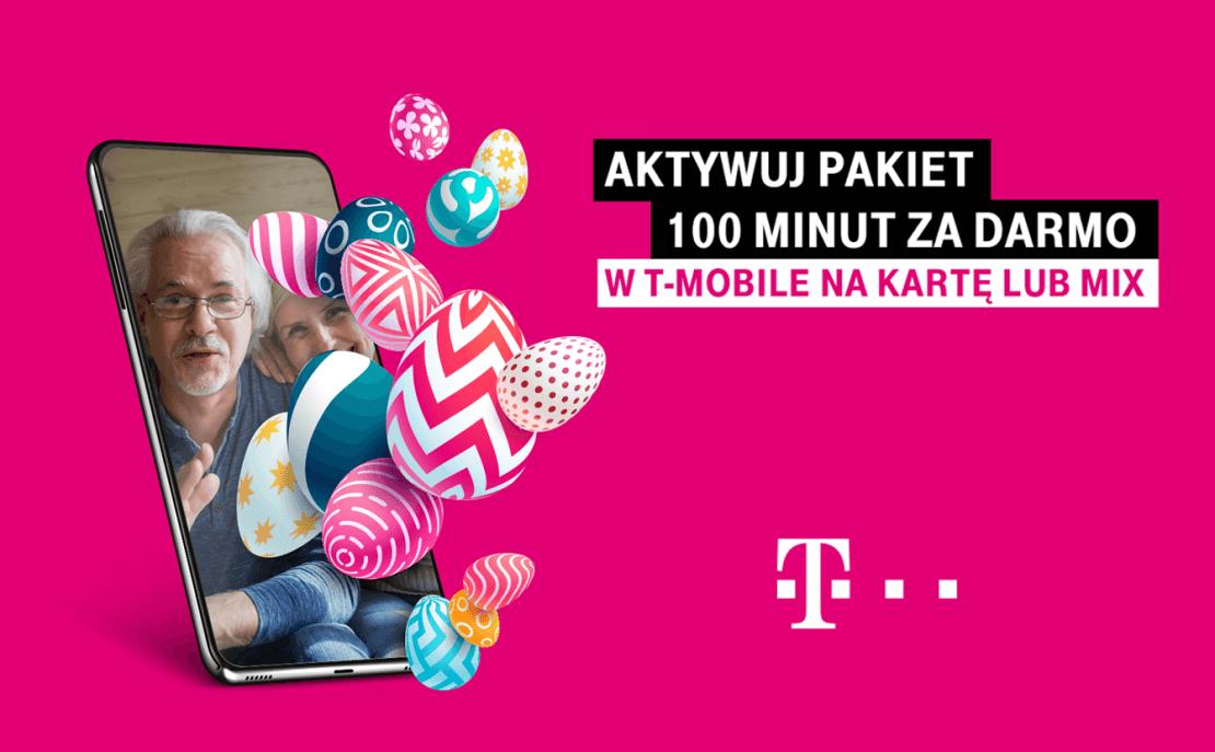 100 minut od T-Mobile na Wielkanoc
