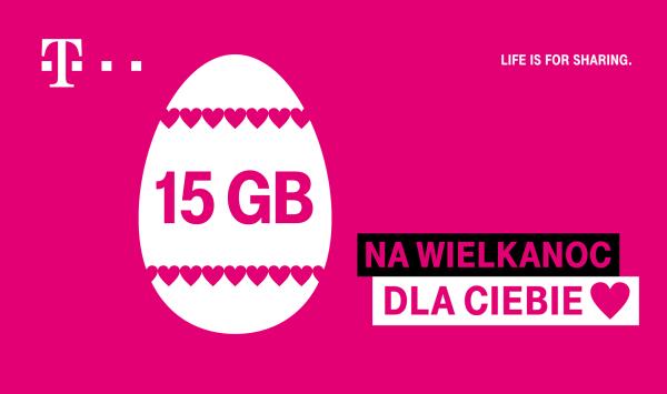15 GB na Wielkanoc od T‑Mobile