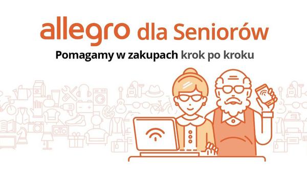 Allegro wspiera seniorów w zakupach online