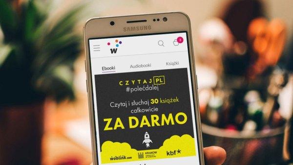 30 darmowych e-booków i audiobooków w akcji Czytaj PL!