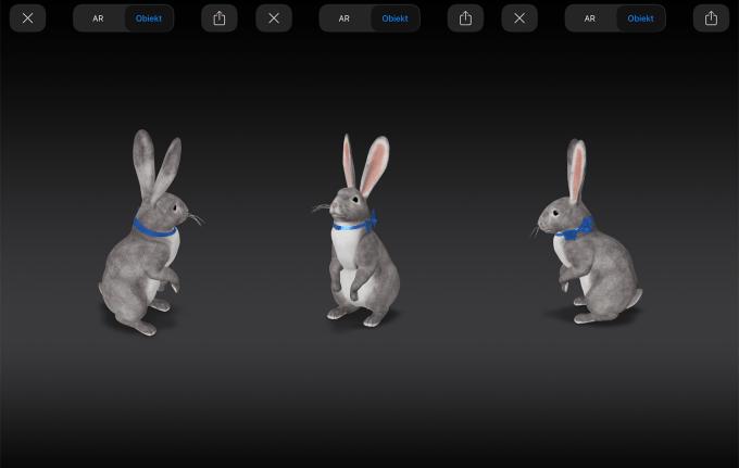 Easter Bunny w wyszukiwarce Google 3D (AR)