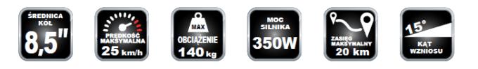 Fiat F500-F85W - najważniejsze parametry techniczne