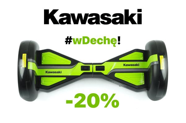#wDechę Pojazdy elektryczne Kawasaki o 20% tańsze!