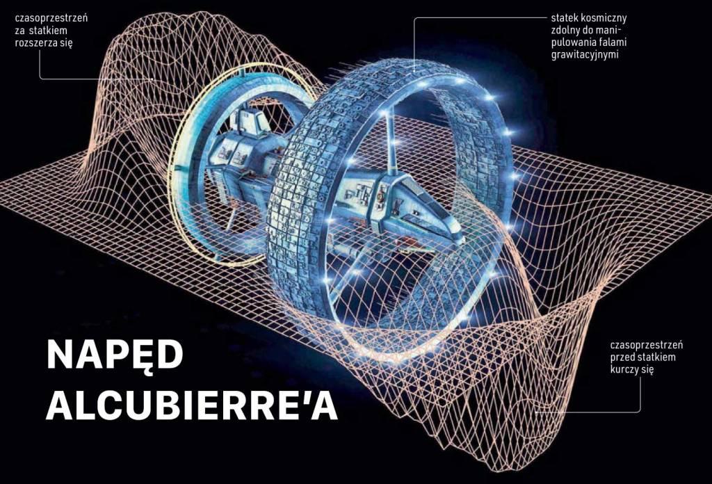 Jak działa napęd Alcubierre'a?